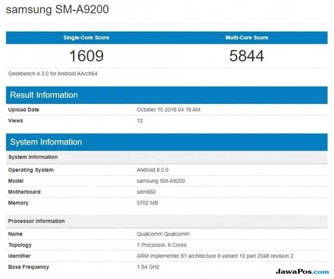 Samsung Galaxy A9, Galaxy A9 Empat kamera, Samsung Galaxy A9 Empat kamera