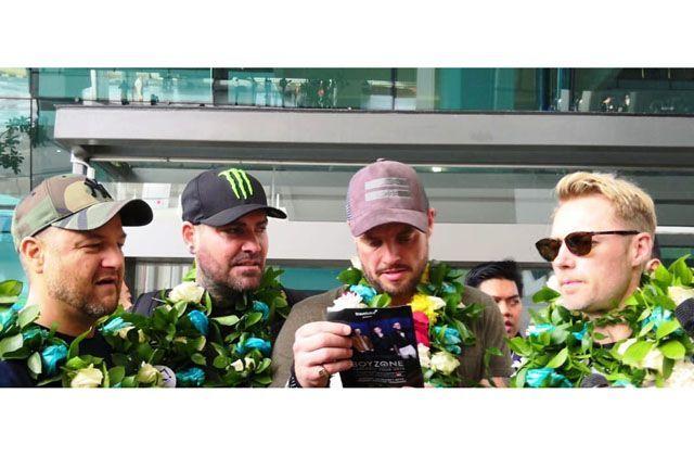 Tiba di Indonesia, Boyzone Janjikan Penampilan Terbaik