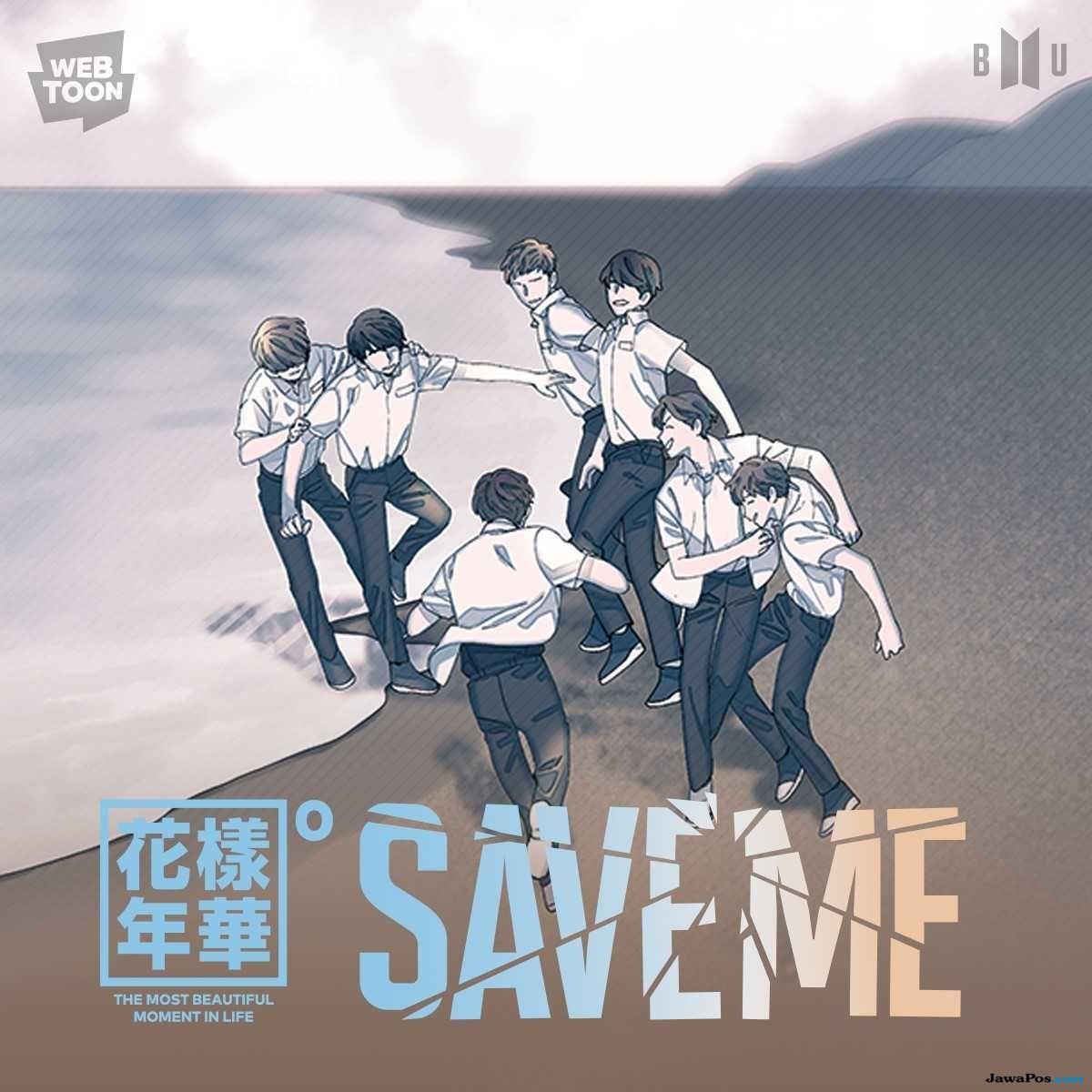 BTS Bertransformasi ke Dunia Komik Lewat 'Save Me'