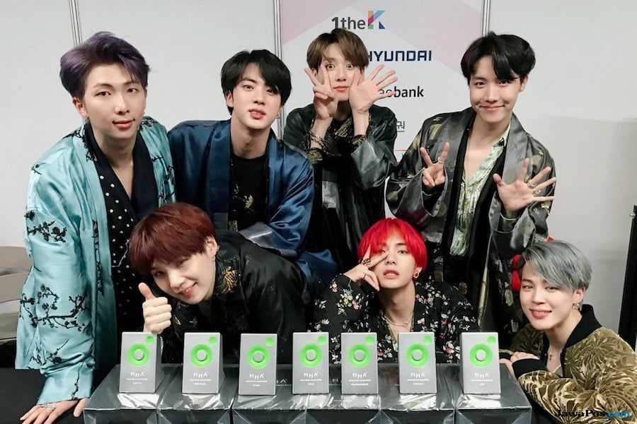 BTS, iKON, dan Wanna One Gondol Daesang di Melon Music Awards 2018