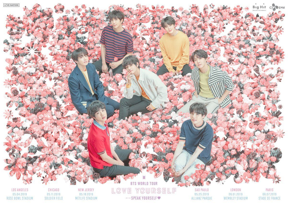 BTS Siap Keliling Dunia Lagi Tahun Ini