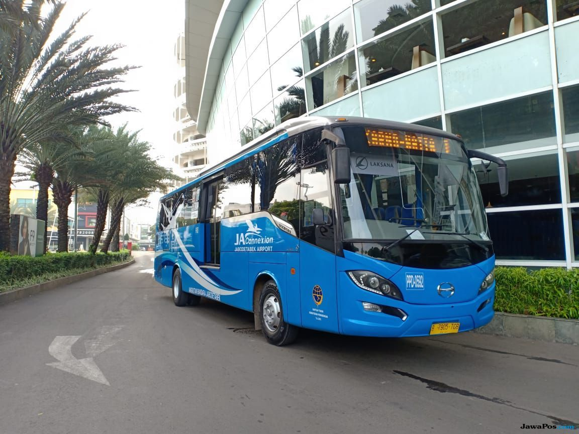 Bus JA Connexion Resmi Layani Trayek Tangcity Mall-Bandara Soetta