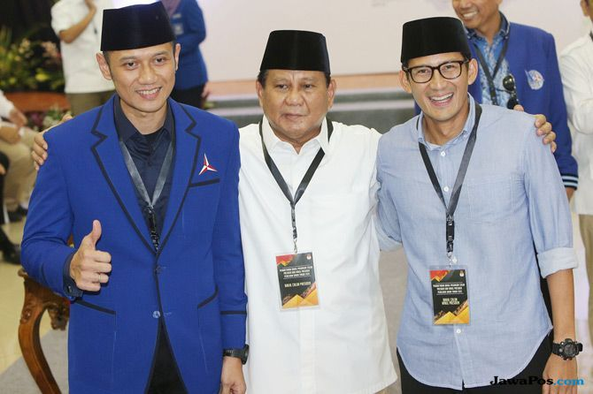 Cara Jitu Tim Kampanye Katrol Elektabilitas Prabowo-Sandi