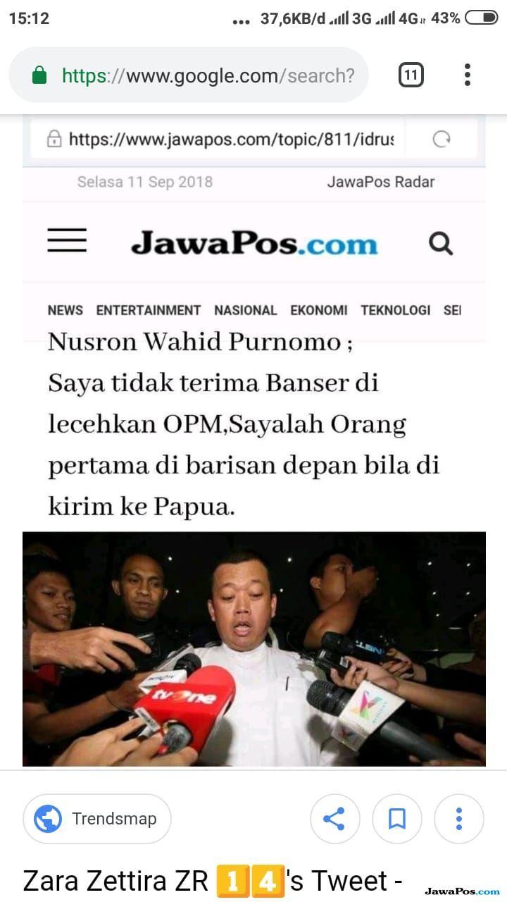 Catut JawaPos.com, Penyebar Hoax Pelintir Pernyataan Nusron Wahid