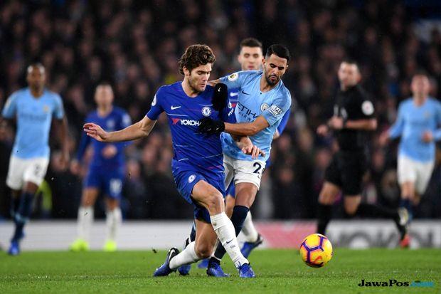 Premier league 2018-2019, Liga Inggris, Chelsea, Manchester City, Chelsea 2-0 Manchester City