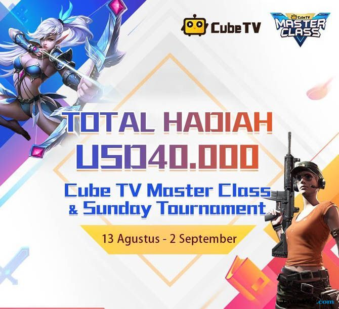 cube tv, Cube TV Masterclass, kompetisi game cube tv