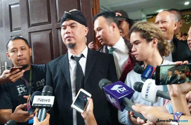 Dalam Pleidoi, Ahmad Dhani Minta Dibebaskan