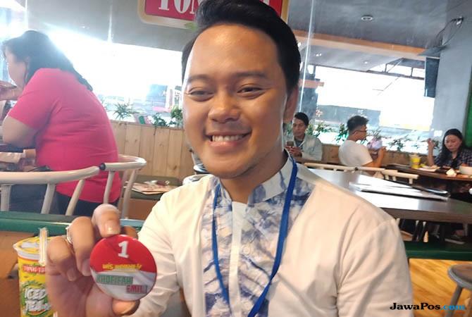 Danang D'Academy 2 Ajak Fansnya Dukung Khofifah-Emil
