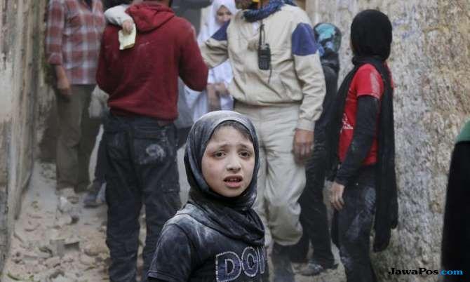 derita sunyi, korban perang suriah, syria, perang syria,