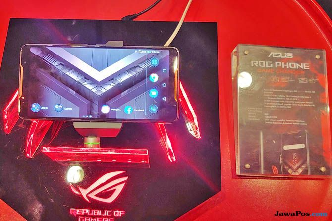 Asus ROG Phone, Asus ROG Phone Indonesia, Asus ROG Phone harga