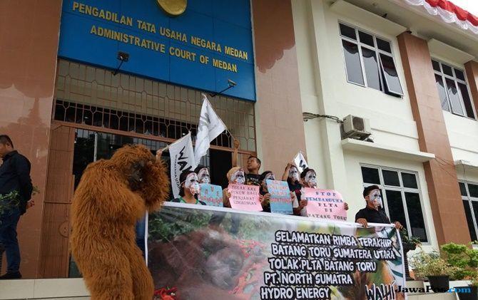 Dianggap Merusak Ekosistem, WALHI Gugat Pembangunan PLTA Batangtoru