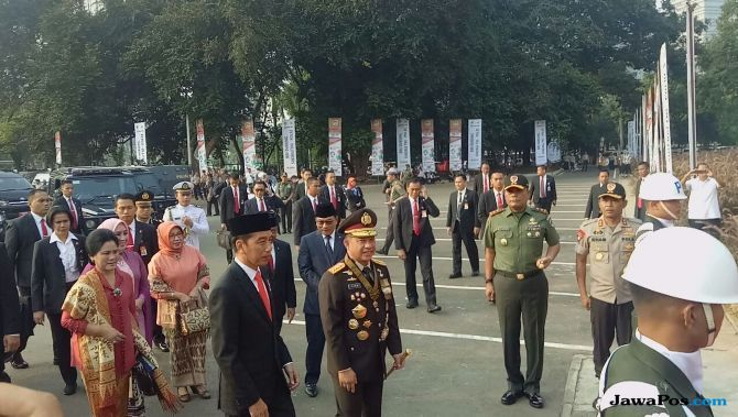 Didesak Jadi Cawapres Jokowi, Kapolri Ngaku Nggak Berminat