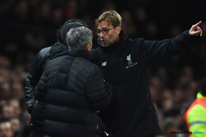 Jose Mourinho, Juergen Klopp, Manchester United, Liverpool