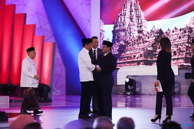 Disinformasi dari Debat Capres, Djoko Santoso Disebut Dilarang Masuk
