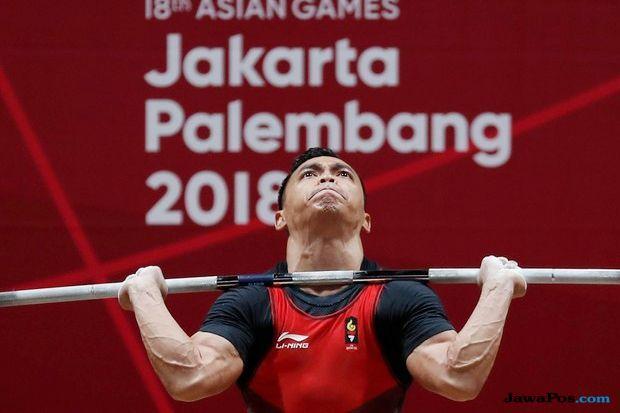 Asian Games 2018, Angkat Besi, Eko Yuli, medali emas