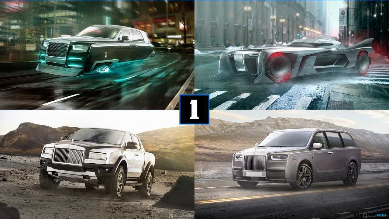 Evolusi Rolls-Royce Menjadi Batmobile, Mini van Hingga Truk