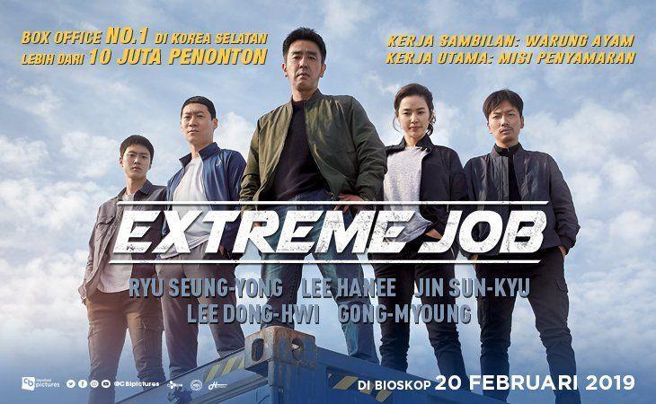 Extreme Job, Film Kedua Paling Banyak Ditonton di Korea