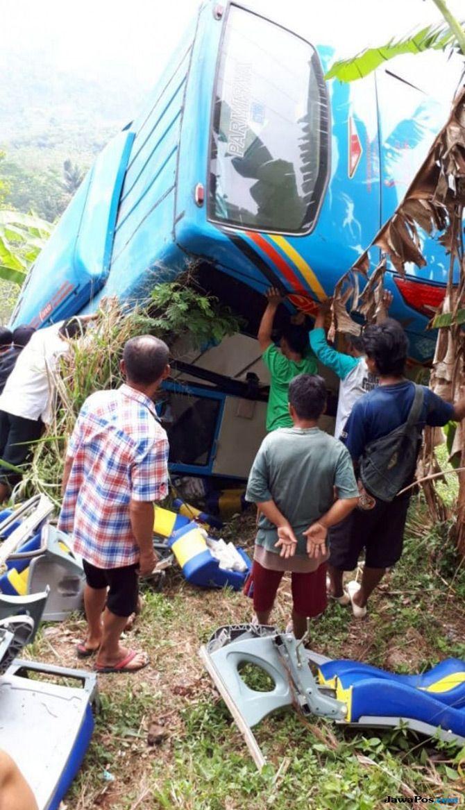 Fakta Terbaru dari Bus Maut di Sukabumi, Sempat Ada Kebocoran Solar