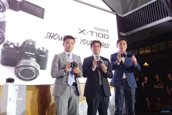 Fujifilm X-T100, Kamera Fujifilm, Mirrorless Fujifilm