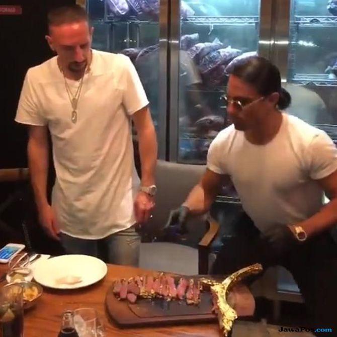 Franck Ribery, Bayern Muenchen, Steak, Hasan Salihamidzic