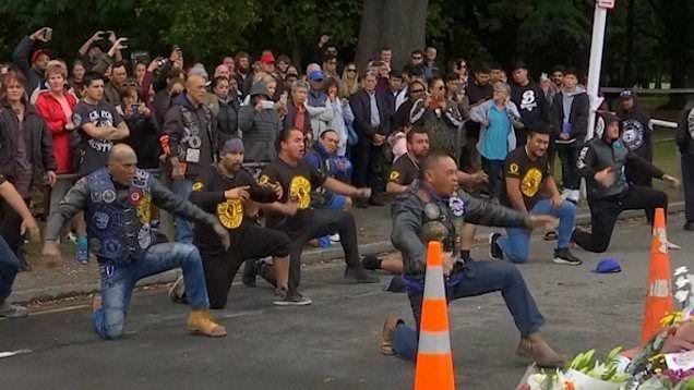 Muslim Selandia Baru Image: Geng Motor Dukung Komunitas Muslim Di Selandia Baru