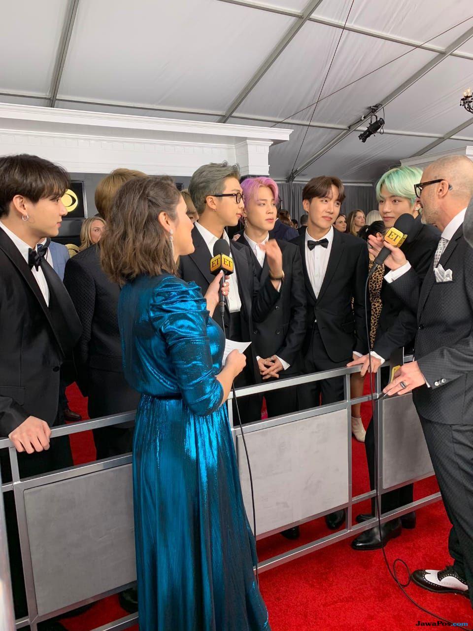 Hadir di Grammy Awards 2019, BTS: Dreams Come True!