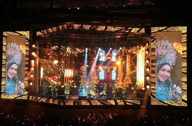 Hamil Besar, Chua Kotak Bela-belain Nonton Konser Siti Nurhaliza