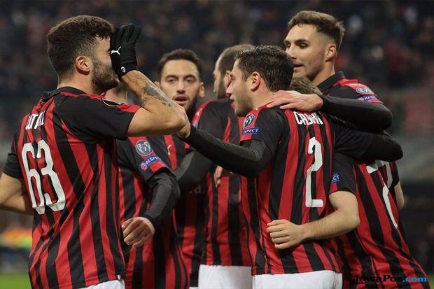 Liga Europa 2018-2019, AC Milan, F91 Dudelange, AC Milan 5-2 F91 Dudelange