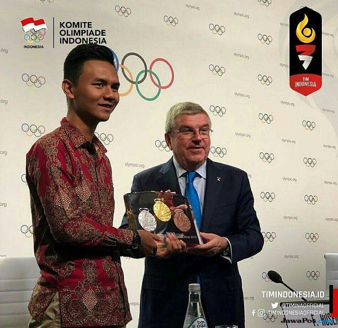 Olimpiade Remaja 2018, Muhammad Farid Husein, Buenos Aires, Argentina
