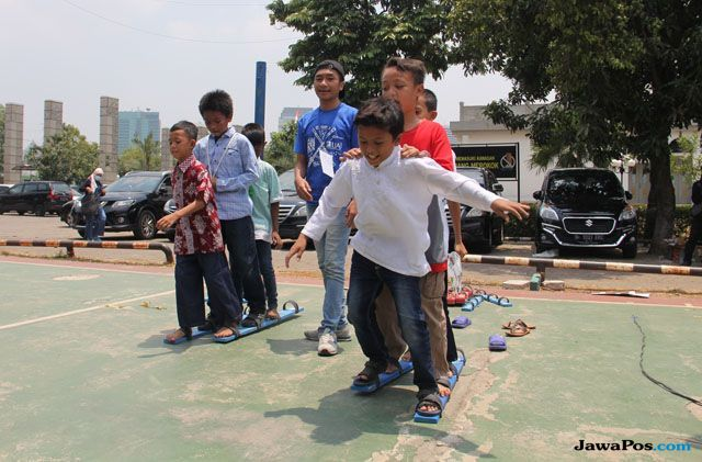 Hidupkan Permainan Tradisional di Festival Bermain Anak