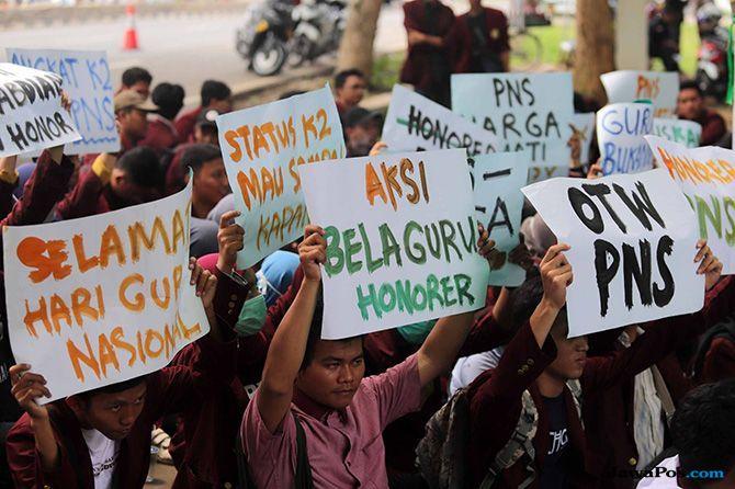 Honorer Berharap PPPK Jadi Peluang Dihargai Negara Tanpa Lihat Usia