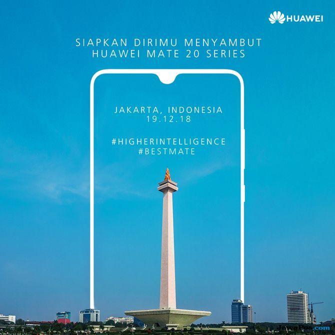 Huawei Mate 20 Series Segera Meluncur di Indonesia, Catat Tanggalnya!