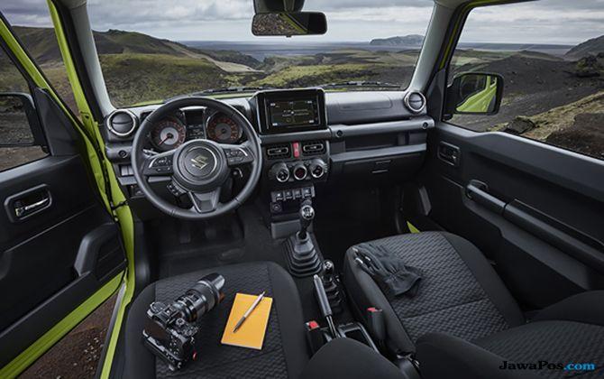 Ini Dia Sosok The All New Suzuki Jimny