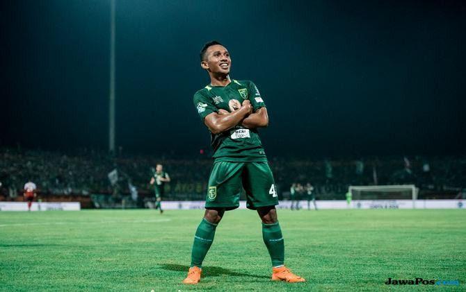 David da Silva, Irfan Jaya, Liga 1 2018, Persipura Jayapura, Persebaya Surabaya