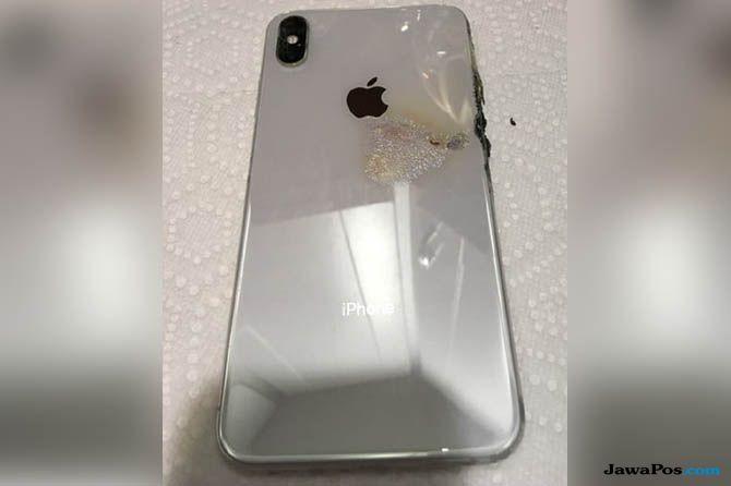 iPhone terbakar, iPhone XS Max, iPhone XS Max terbakar