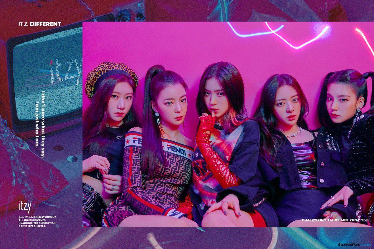 ITZY Rilis Teaser Foto Grup dan Judul Single Pertama Debut