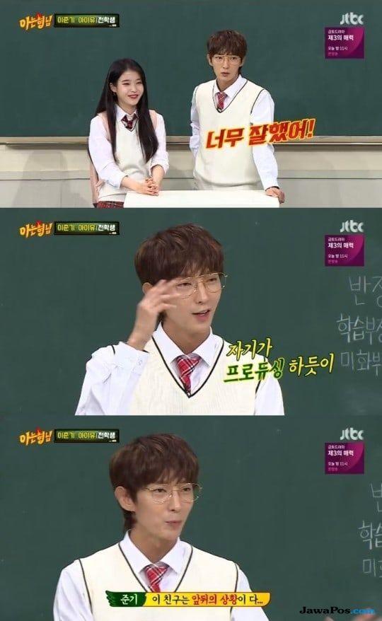 IU dan Lee Joon Gi Reuni, Acara Knowing Brothers Dapat Rating Tinggi