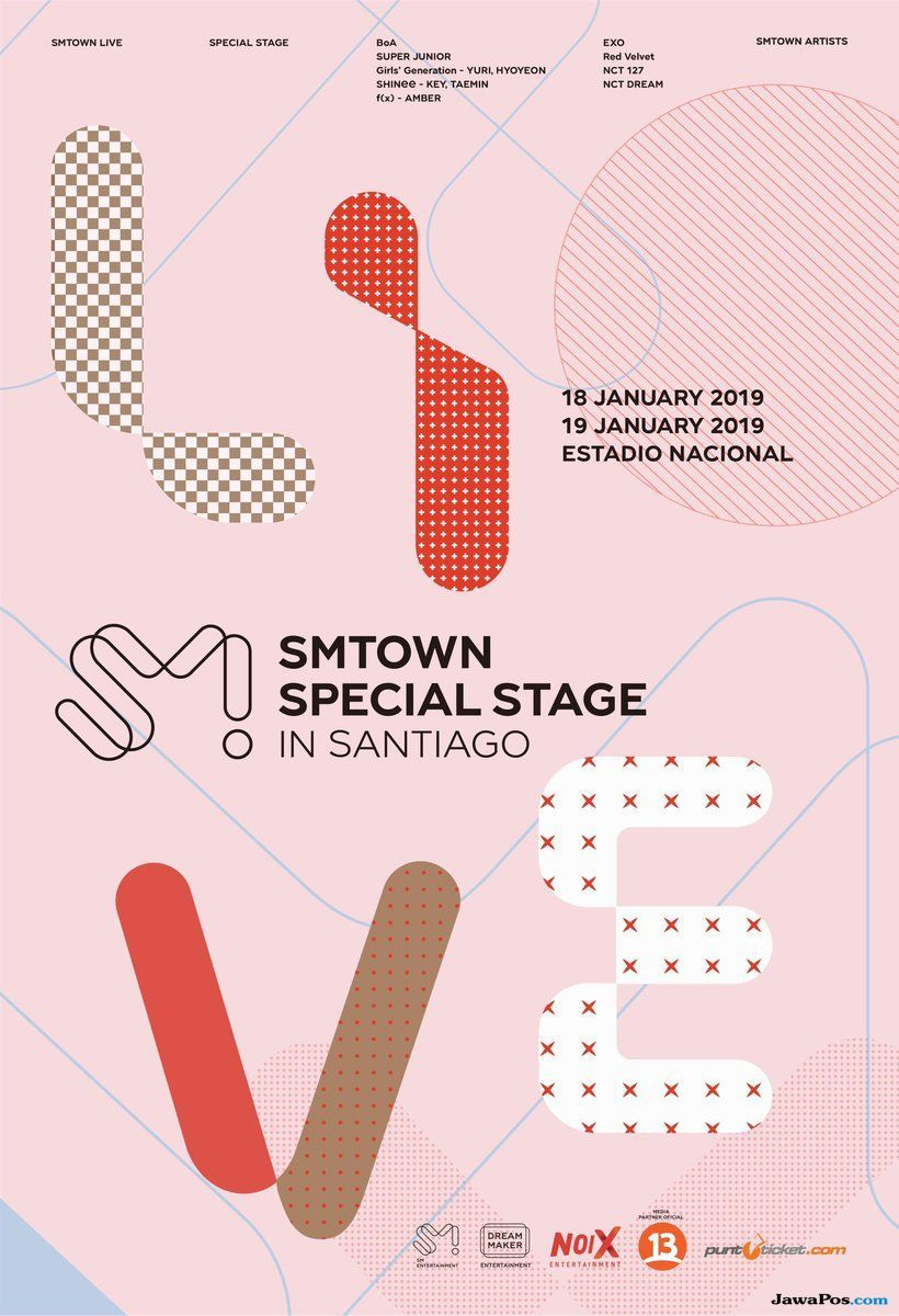 Jadi yang Pertama, Artis SMTOWN Guncang Amerika Selatan Januari 2019