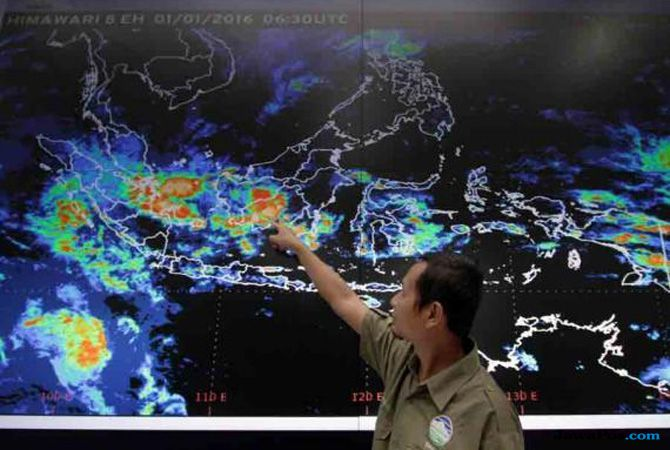 Jakarta Dilanda Hujan Lebat, Begini Penjelasan BMKG