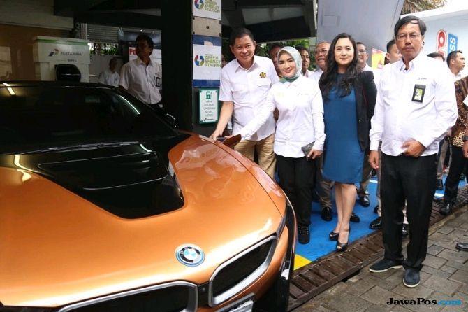 Jakarta Kini Punya Stasiun Pengisian Baterai Mobil Listrik