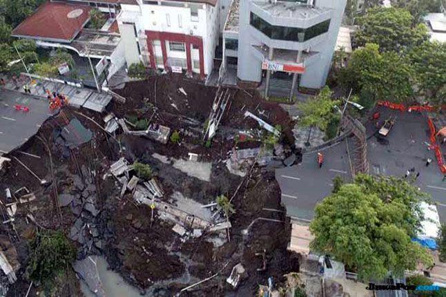 Jalan Gubeng Ambles, Belum Ada Pihak yang Dimintai Tanggung Jawab