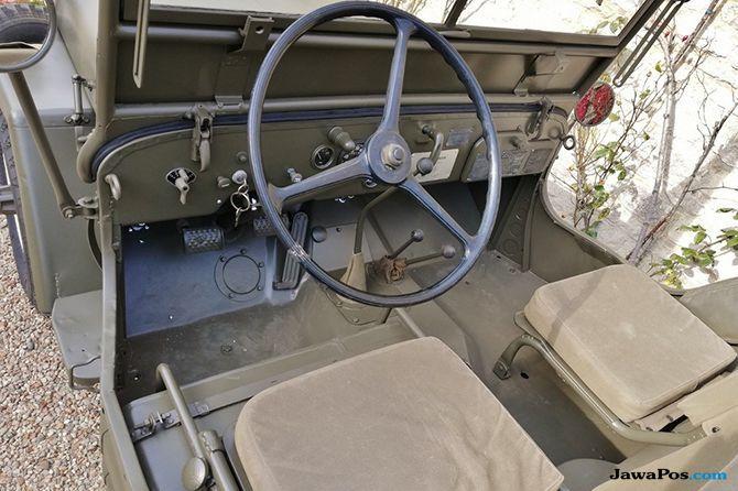Jeep Perang Dunia ke-2 Koleksi Bintang Hollywood Dibanderol Rp 1,9 M