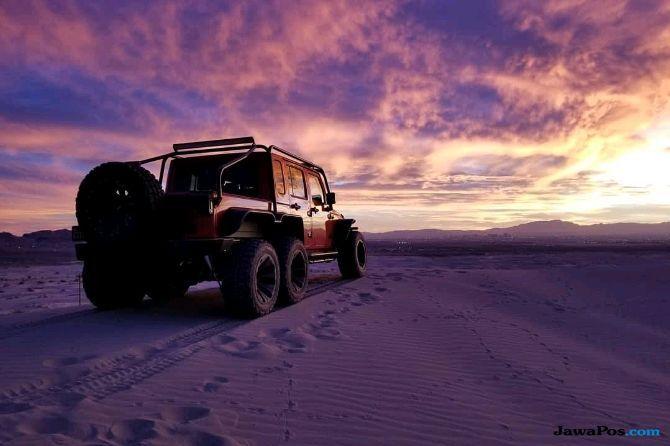 Jeep Wrangler 6 Roda Gahar Ini Dijual Rp 4,2 Miliar
