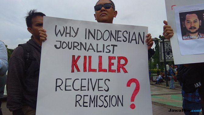 Jokowi Beri Remisi Pembunuh Jurnalis Prabangsa, AJI: Kami Kecewa