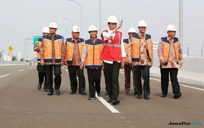 Jokowi Blak-blakan Bangun Infrastruktur Demi Logistik Pemilu