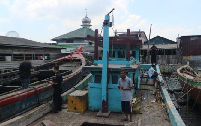 Kabar Soal Jual Beli Kapal Sitaan Secara Ilegal di Belawan Hoaks