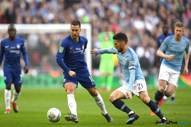 Carabao Cup 2018-2019, Piala Liga inggris, Chelsea, manchester city