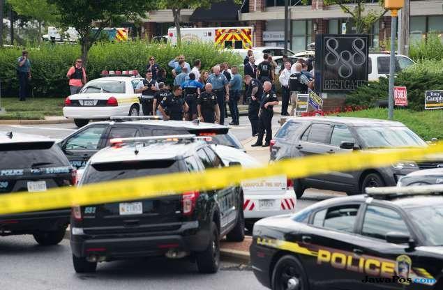 Kantor Media AS Diberondong Tembakan, 5 Tewas