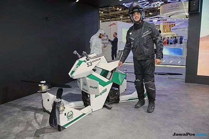 Keren Banget! Tumpangan Ini Akan Digunakan Polisi Dubai Saat Bertugas