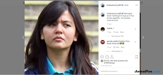 Ketika Krishna Murti dan Jokdri Saling Balas Komentar di Instagram